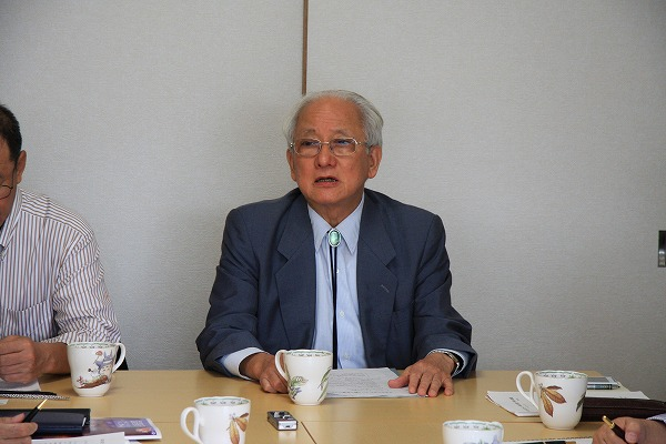 岡本幸治大阪国際大学名誉教授と...