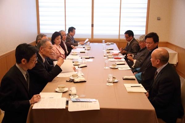中央チベット政府議員連との意見交換