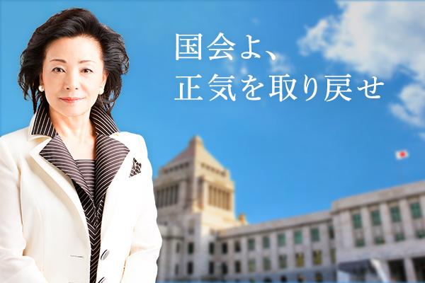 意見広告「国会よ、正気を取り戻せ」発表