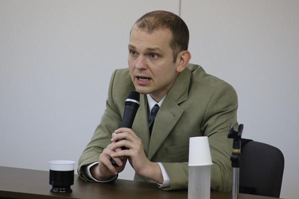 「ウクライナの教訓と日本の危機」 グレンコ・アンドリー氏